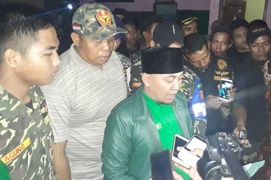 banser kabupaten cirebon tuding lpi provokatif