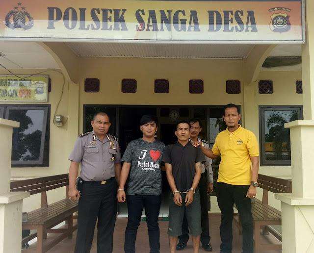 Hindari Dari Kejaran Kepolisian dan Tinggal Dalam Hutan, Akhirnya Buronan Kasus Curat Diciduk Polisi