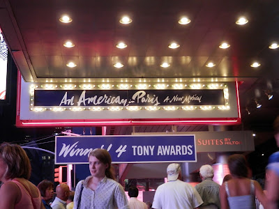 Times Square An american in paris