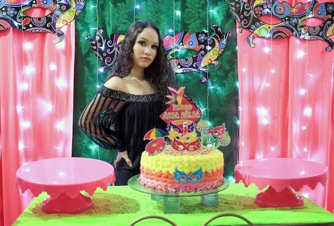Aniversário da Ana Júlia em Santa Helena
