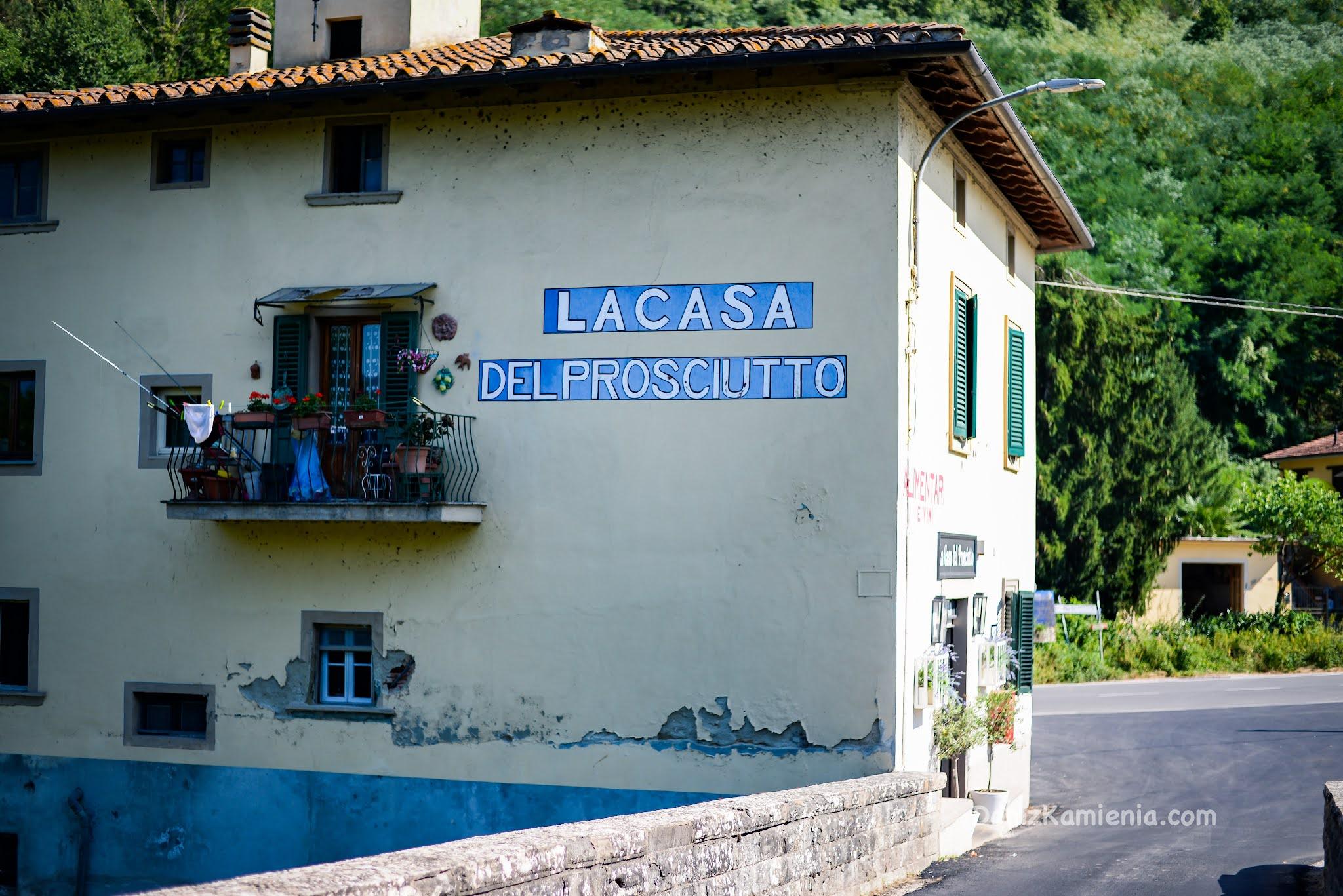 La casa di prosciutto Ponte a Vicchio