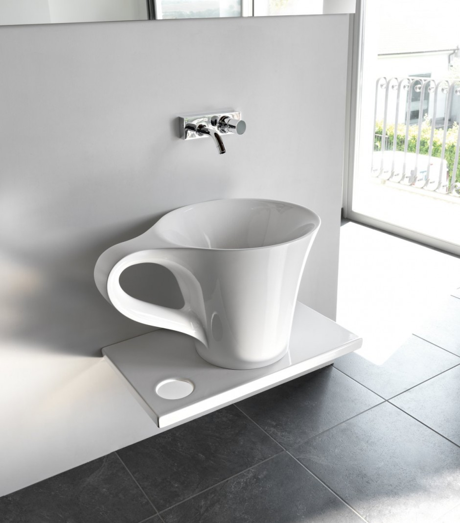 Cup Style Sinks! Home Decor