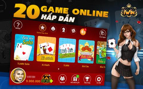iWin Online là Game trên di động hấp dẫn