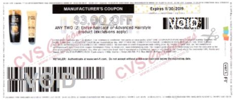 $3.00/2 L'Oreal Elvive Coupon printable NLA Exp 11/30/19.