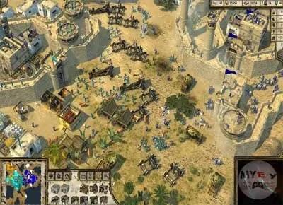 شرح تفصيلي في لعبة صلاح الدين 2 Stronghold Crusader من myegy games