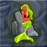 G2J Red Mermaid Escape