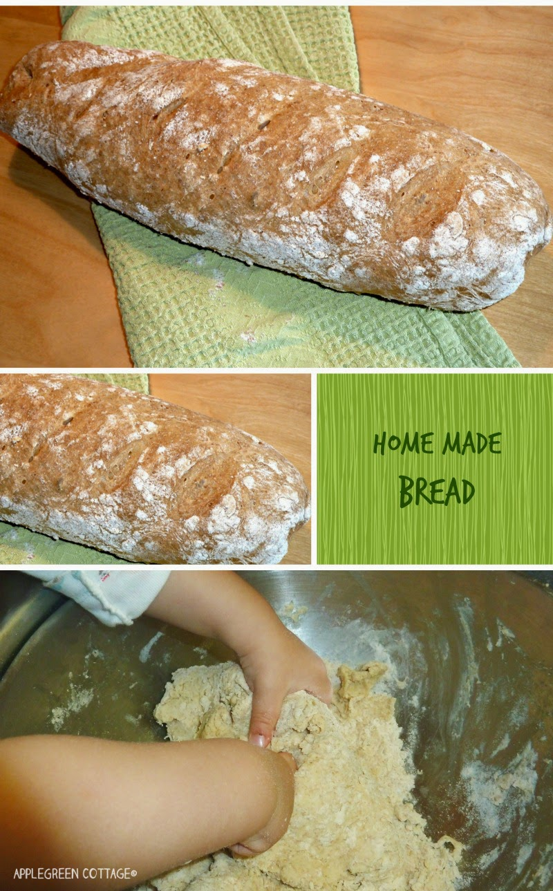 home made bread - kids in the kitchen