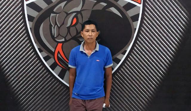 Nurul Ain saat diamankan di Polres Lumajang