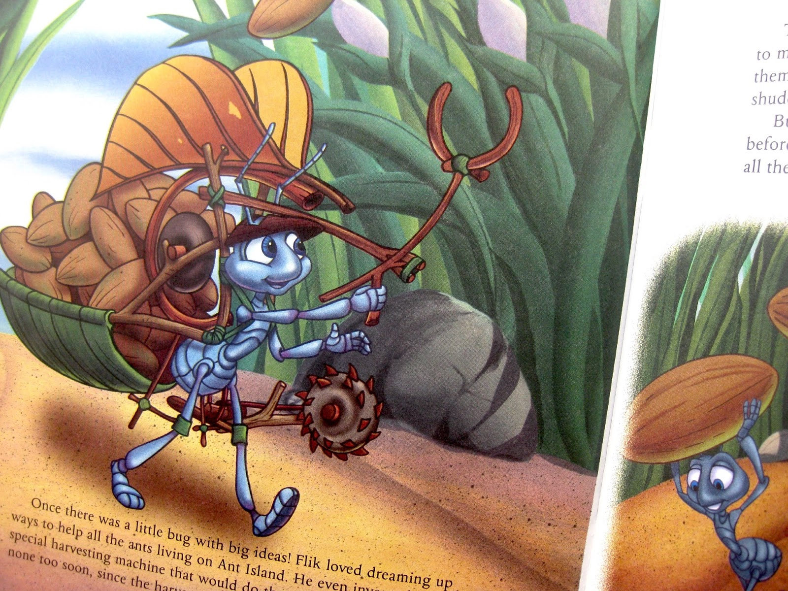 a bug's life golden golden book