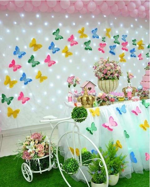 101 fiestas decora con lindas mariposas tu baby shower - Decoracion con mariposas ...