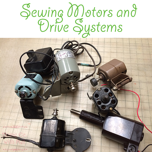 sewing machine motors and drive systems