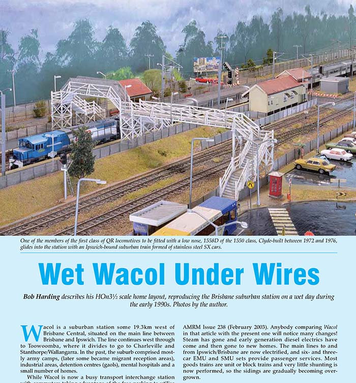Australian Model Railway Magazine: November 2017