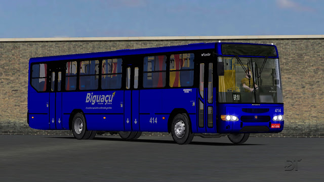 OMSI 2 - Marcopolo Viale VW 17.210 EOD padrão Santa Catarina