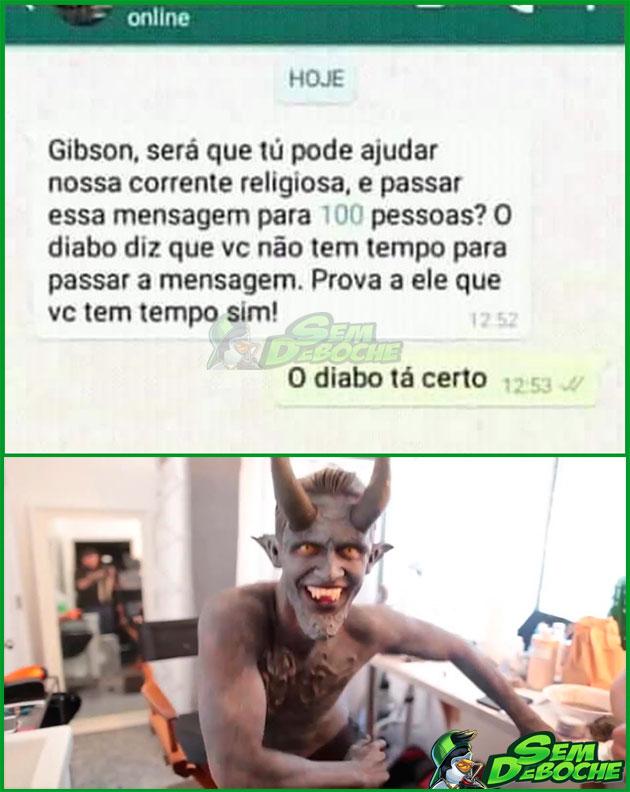 O DIABO SABE DAS COISAS