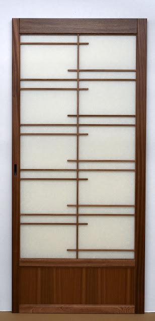 Shoji pocket door