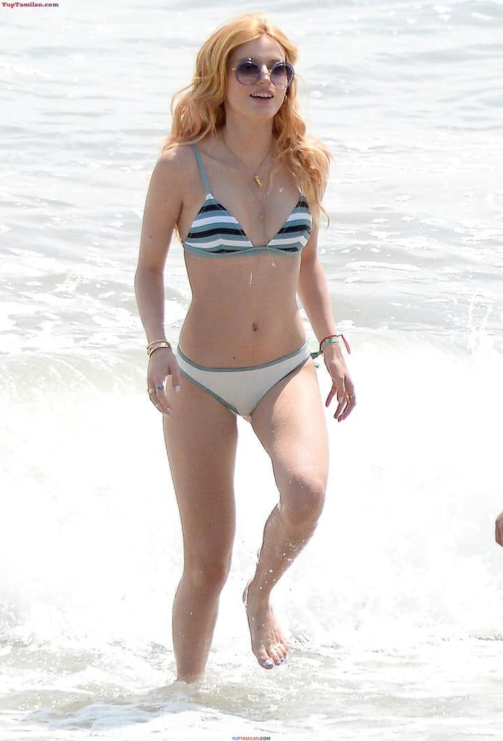 Bella Thorne Sexy Bikini Pictures - Hottest Photos in Lingerie, Bra