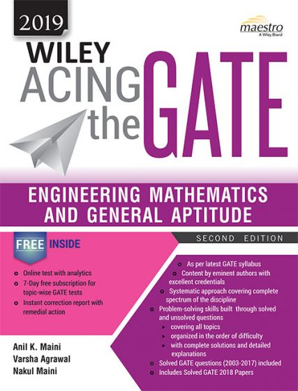 Download Wiley Acing the GATE Engineering Mathematics and