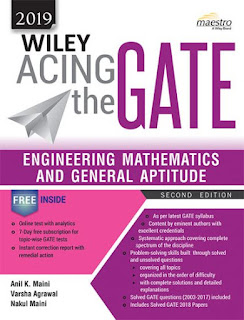 Download Wiley Acing the GATE Engineering Mathematics and General Aptitude Pdf