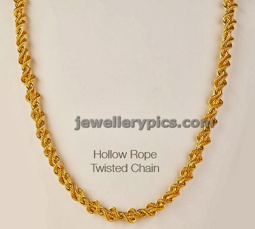 Types Of Gold Chain And Varieties Latest Jewellery Designs