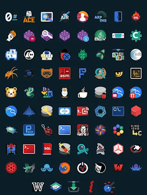 New icon packs in Kali Linux 2020.2 update