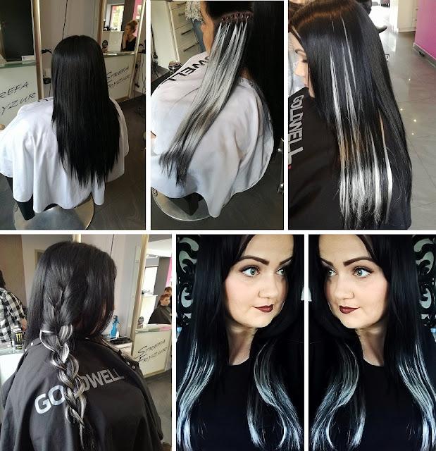 Strefa Fryzur Jasło, hairstyle, inspiracja włosowa, fryzura, czarne włosy, długie włosy, metamorfoza, zmiana