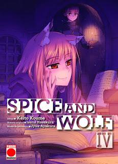 Manga: Review de Spice and Wolf Vol.4 de Isuna Hasekura y Keito Koume - Panini Cómics