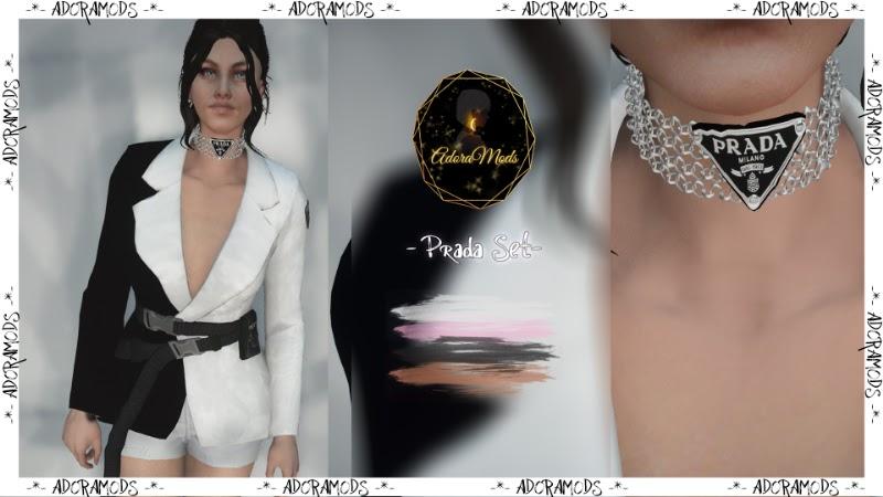Prada set for girls
