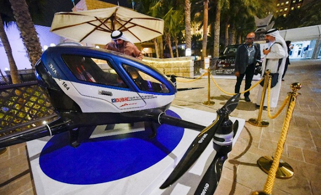 Flying Taxi Service