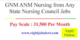 GNM ANM Nursing Jobs in Haryana- 31500 Monthly Salary