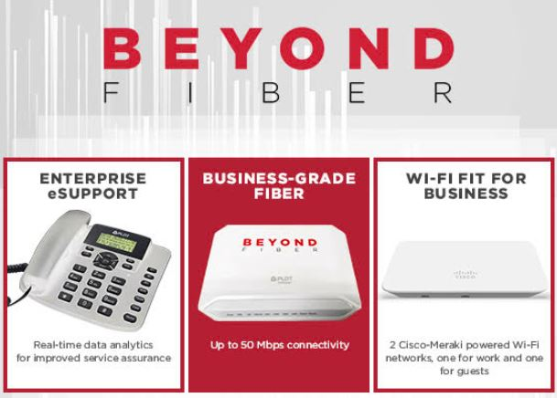 PLDT launches BEYOND FIBER