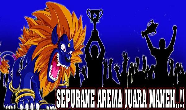 DP BBM Arema Juara