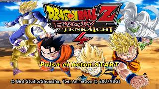 ISO DRAGON BALL Z BUDOKAI TENKAICHI 4 MOD PPSSPP