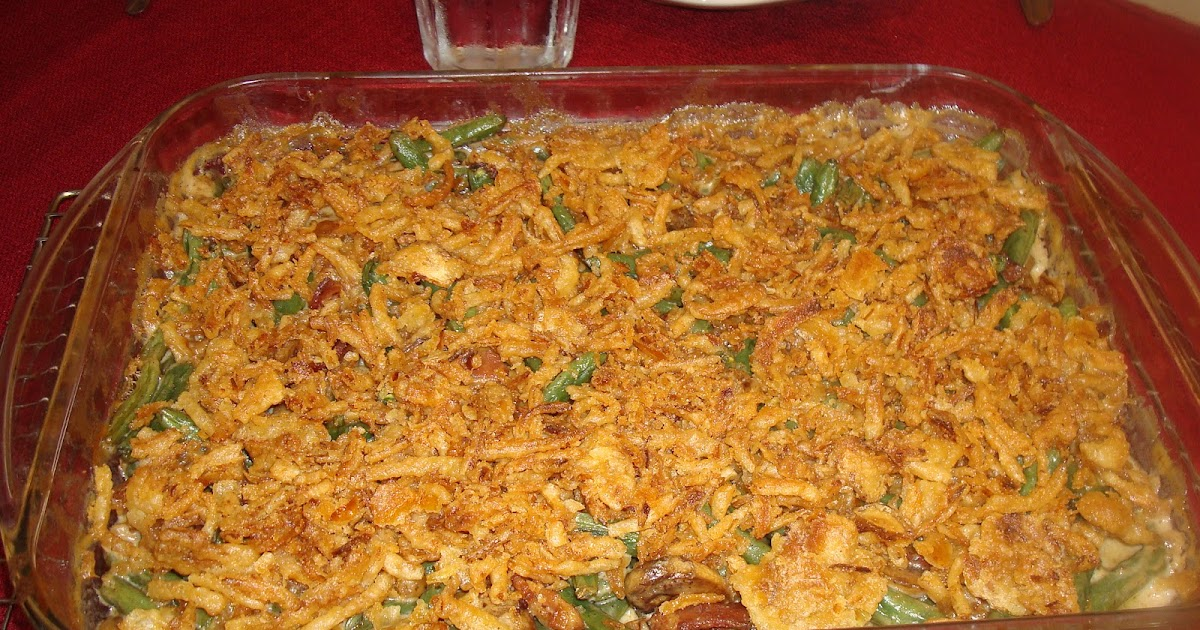 Food Network Green Bean And Bacon Casserole
