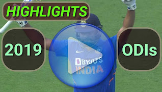 2019 odi cricket matches highlights online