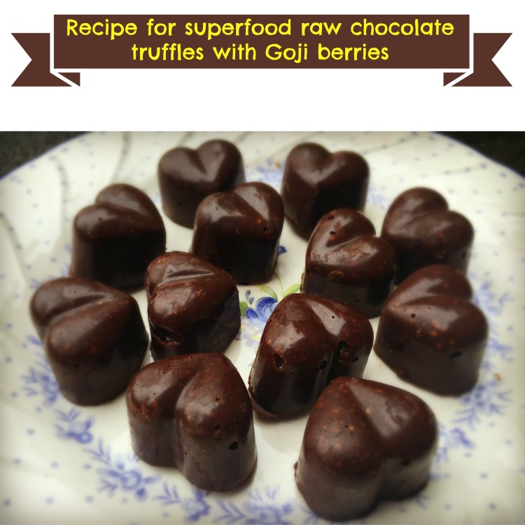 How to make raw chocolate truffles