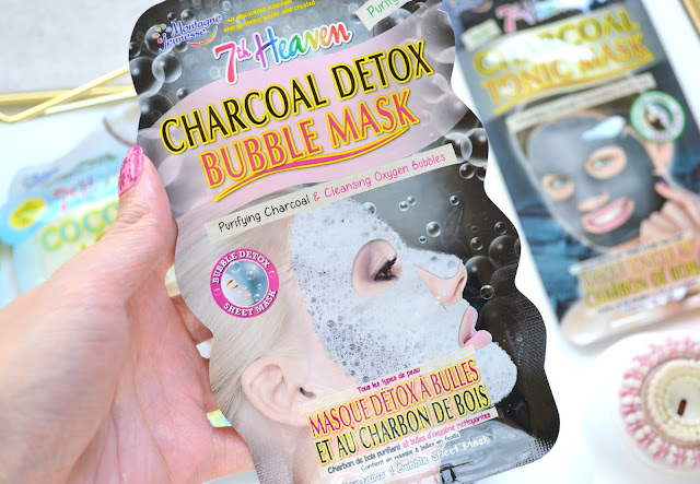 7th Heaven Charcoal Detox Bubble Mask Review