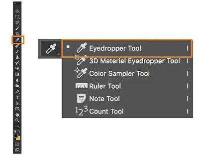 photoshop  Eyedropper Tool
