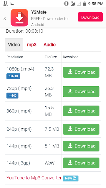 youtube se video download karne ka tarika,  youtube से video download कैसे करे