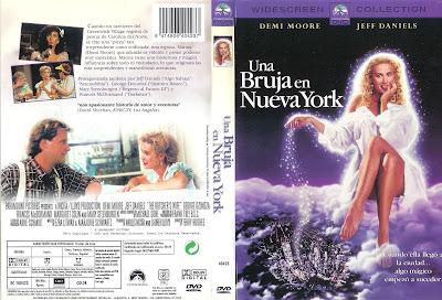 Carátula dvd: Una bruja en Nueva York (1991) Qué linda adivina