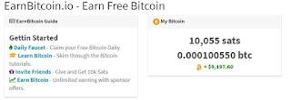 طريقة التسجيل و كيفية الربح من موقع Earn Bitcoin