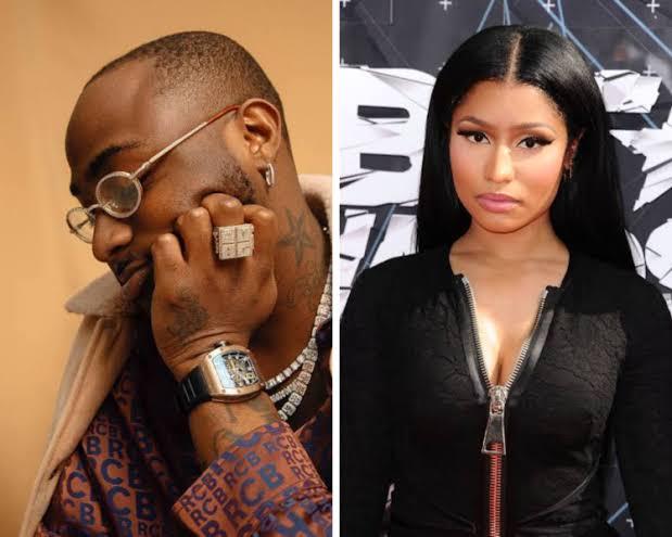 Davido sets to feature Nicki Minaj in new album