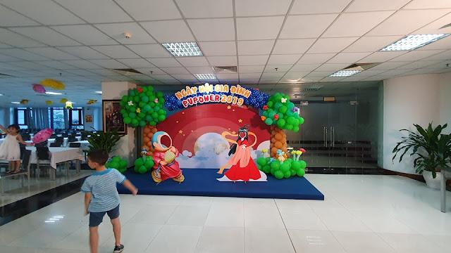Trang trí bóng bay ngày Tết thiếu nhi tại Hà Nội