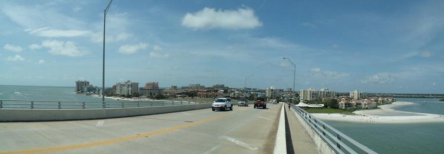 El puente hacia Clearwater Beach