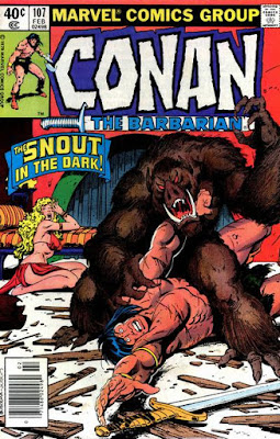 Conan the Barbarian #107, the Snout in the Dark