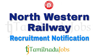 North Western Railway Recruitment notification, Govt jobs for ITI, Govt jobs for 10th