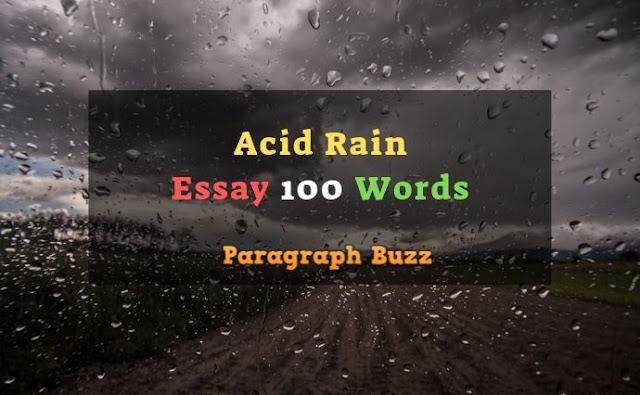 Essays on acid rain