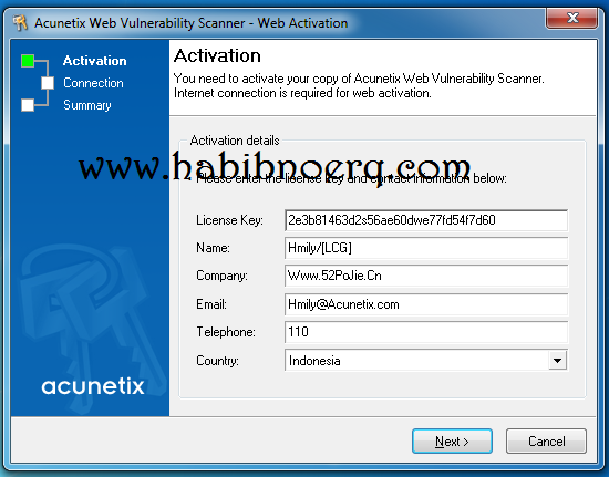 Download free Acunetix Web Vulnerability Scanner last version