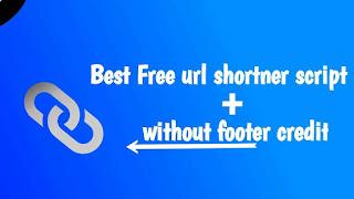 Url shortner blogger free template
