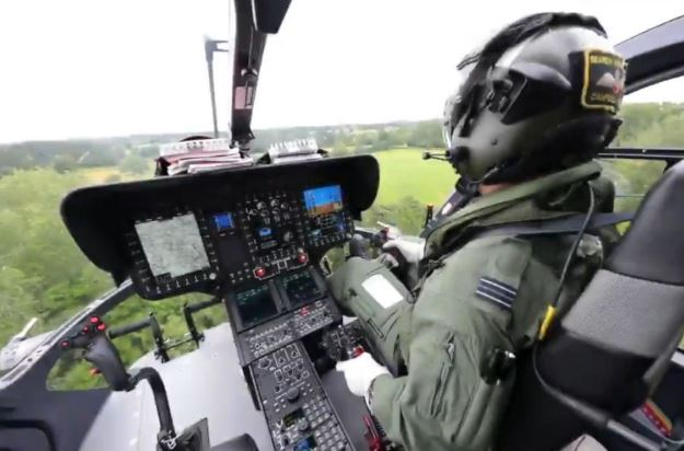 Airbus H135M cockpit