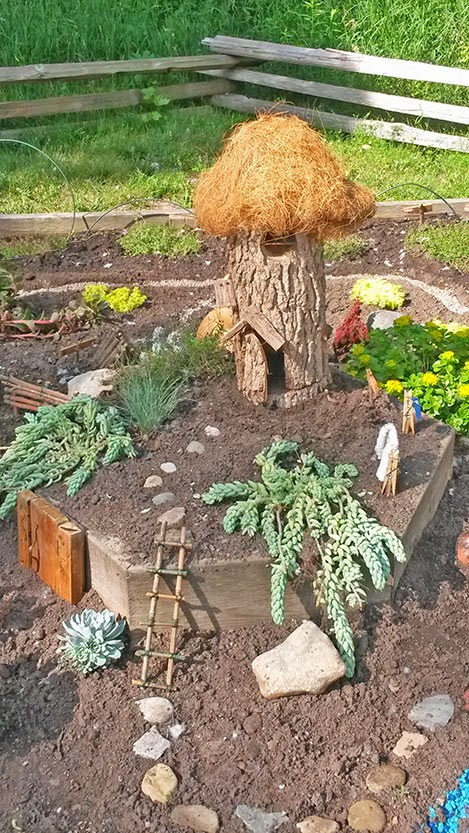 Earth Words Fairy Village Debuts In Gaffield Children S